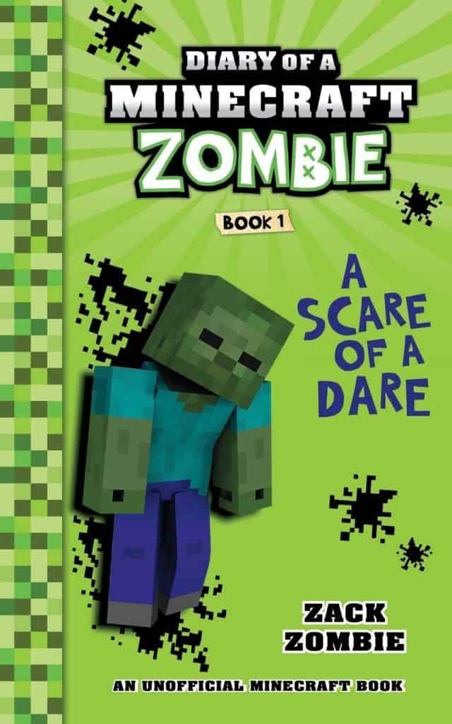 kids stocking stuffer idea: Diary of a Minecraft Zombie Book 1: A Scare of A Dare