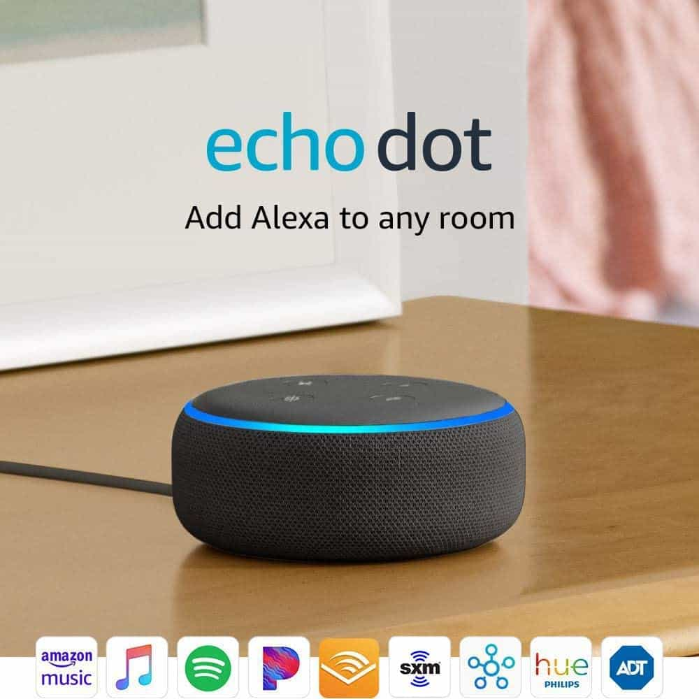 tech gifts for men: echo dot