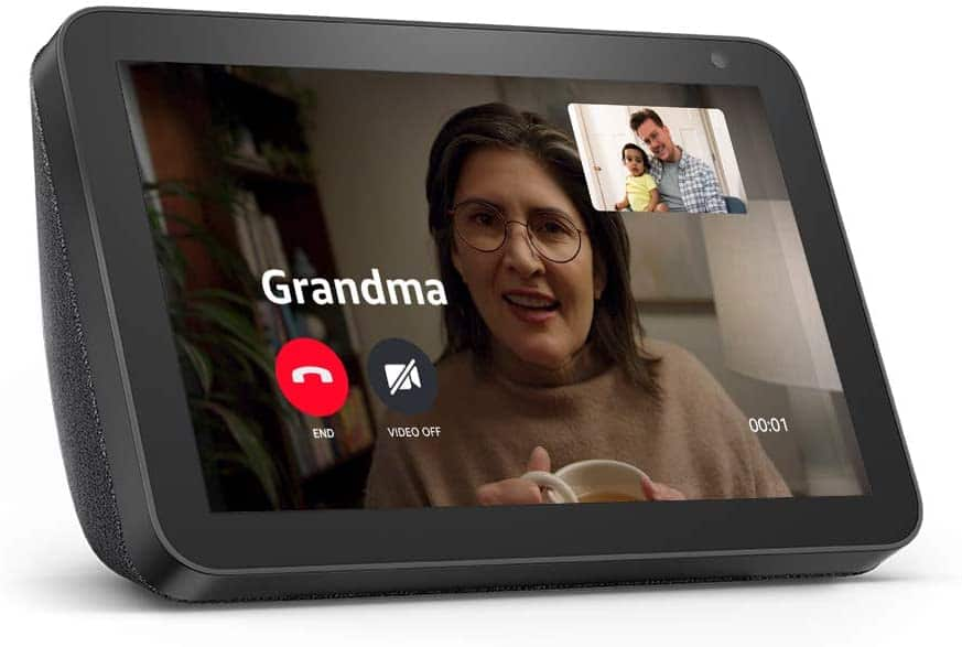 gifts for grandparents: echo show 8
