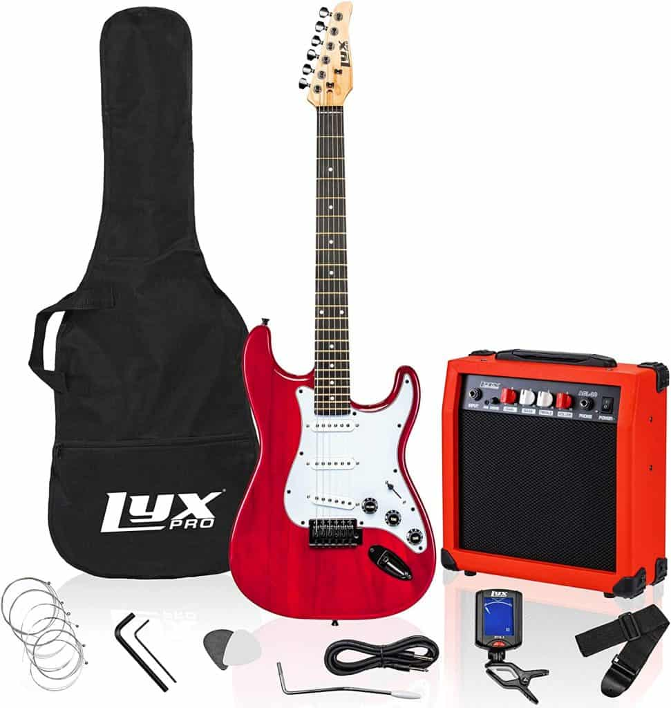 electric guitar set - gifts for teen boys