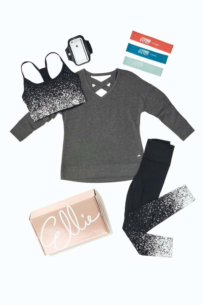 elle workout clothes subscription box gift for mother in law