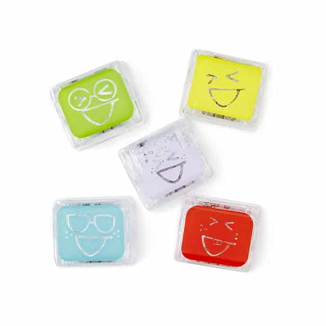 stocking stuffer ideas for boys: glowing bath time cubes