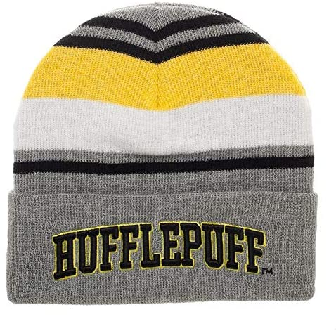 stocking stuffers for tweens: Harry Potter Striped Cuffed Beanie Hat
