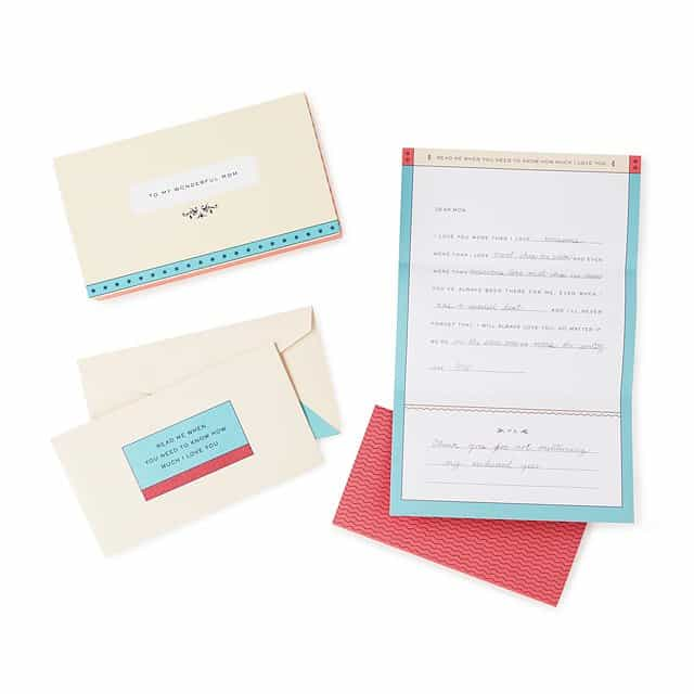 christmas gifts for mom: letters to my mom