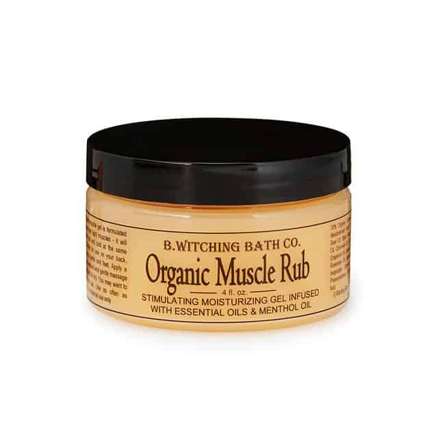 organic muscle rub