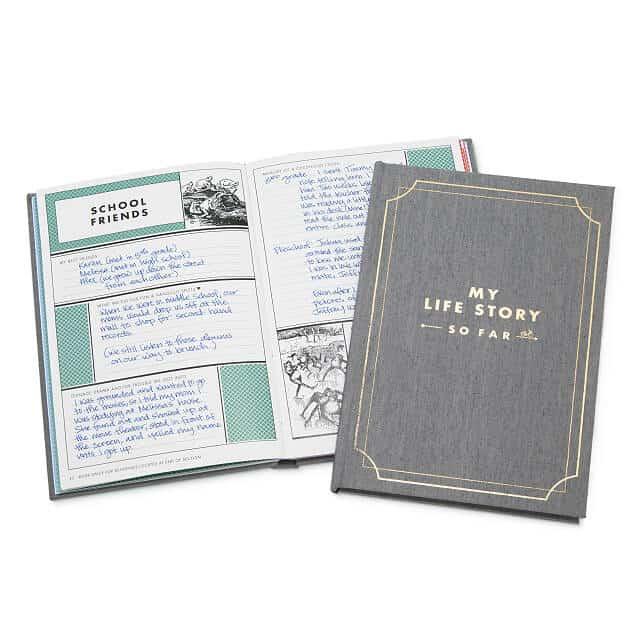 My Life Story - So Far journal