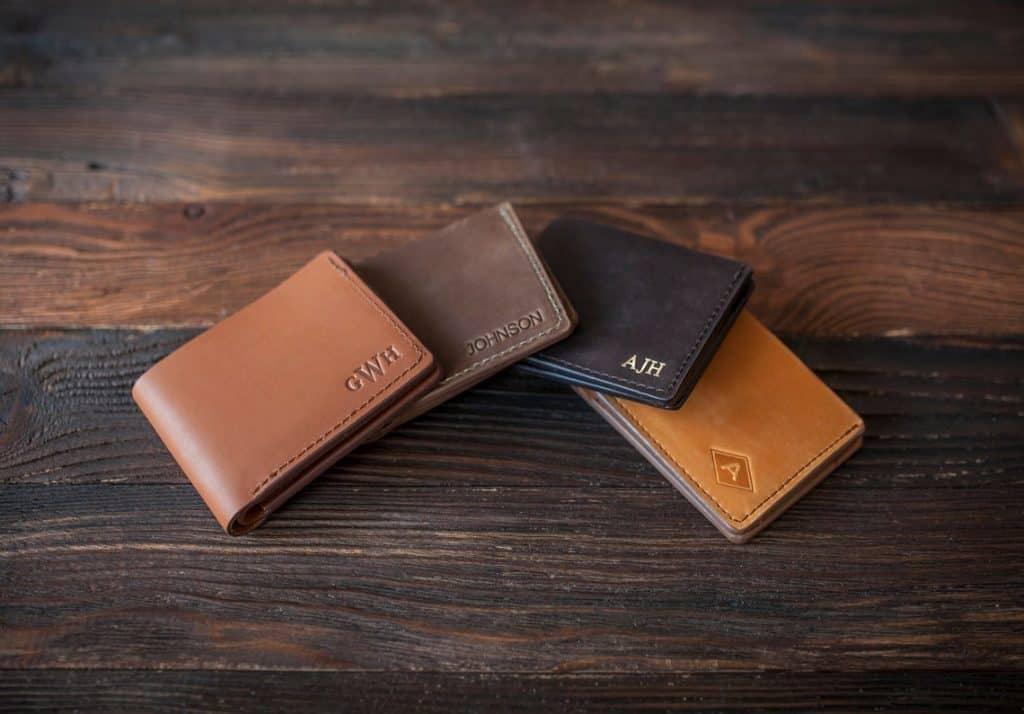 stocking stuffer ideas for men: Personalized Wallet