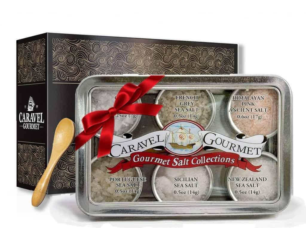 mom gifts for christmas: The Natural Sea Salt Sampler