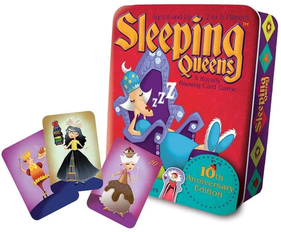 stocking stuffer ideas: sleeping queens card game