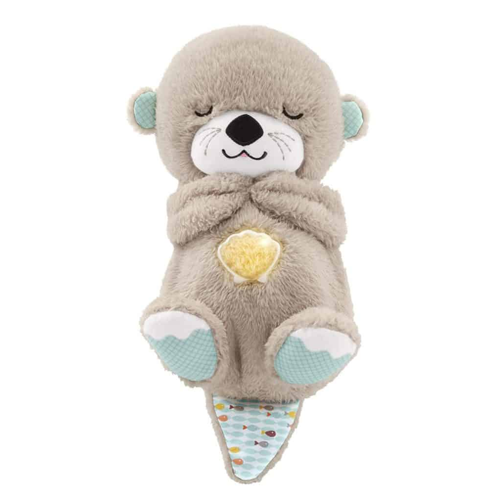 toddler stocking stuffer ideas: soothe 'n snuggle otter