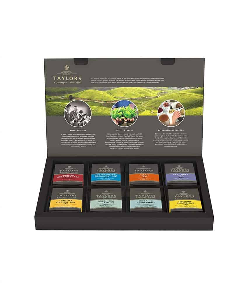 gift for tea lover: Classic Tea Variety Box