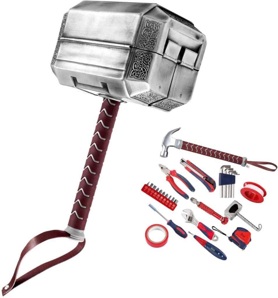 stocking stuffer ideas for men: thor hammer tool kit