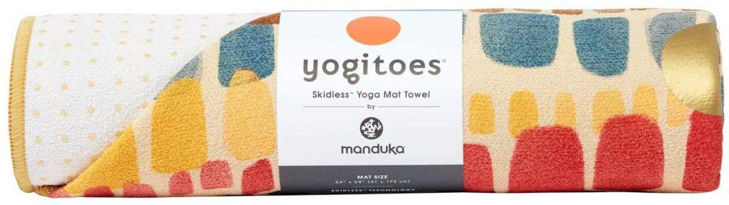 yoga gifts: yoga towel for yoga mat