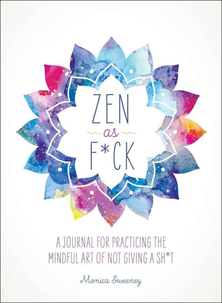 yoga gifts: Zen as F*ck Journal