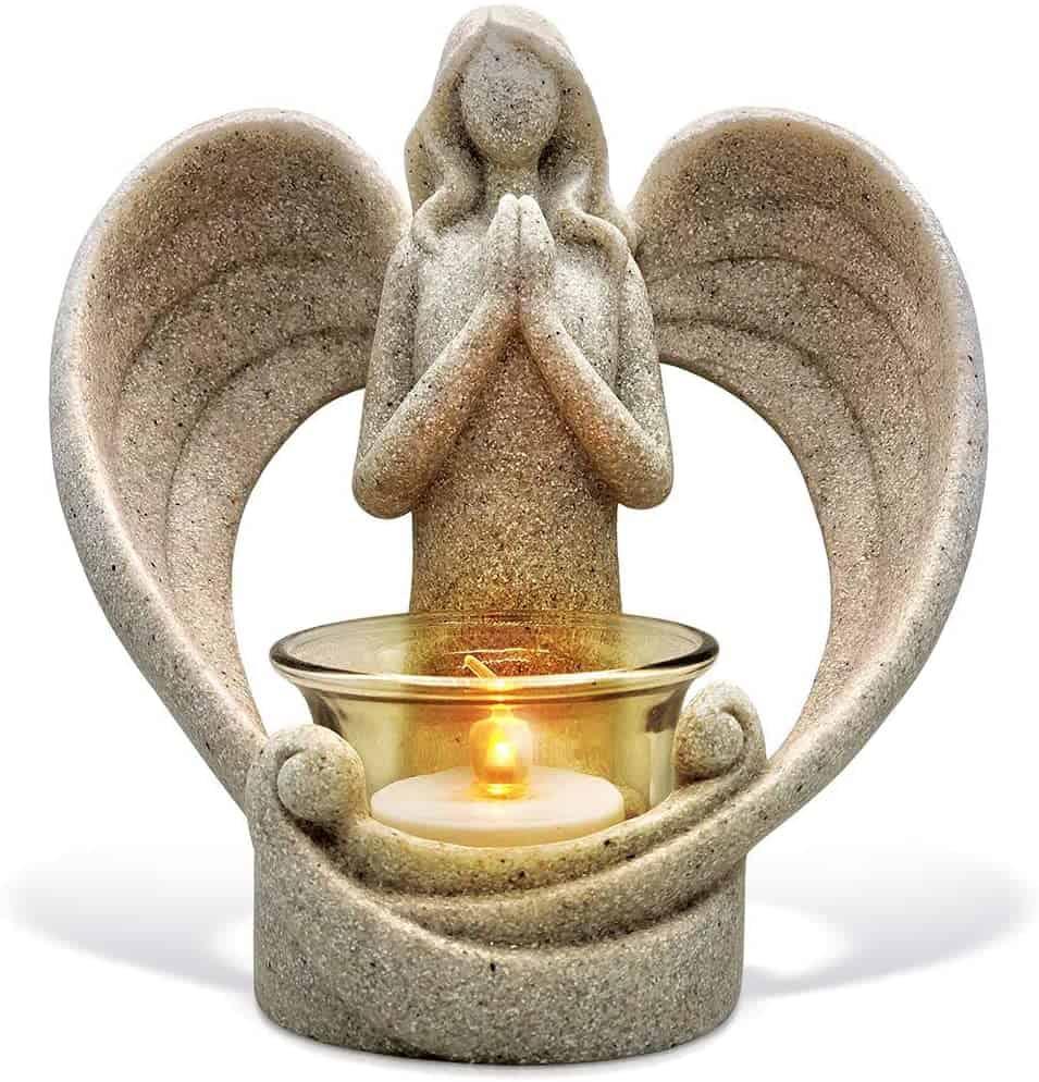 Angel Figurines Candle Holder