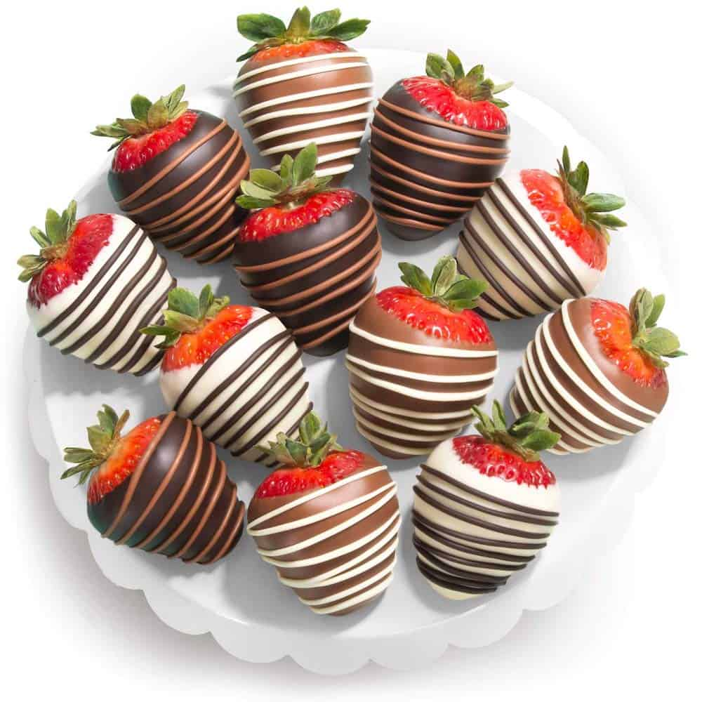 Chocolate-Covered Strawberries For Expecting Moms