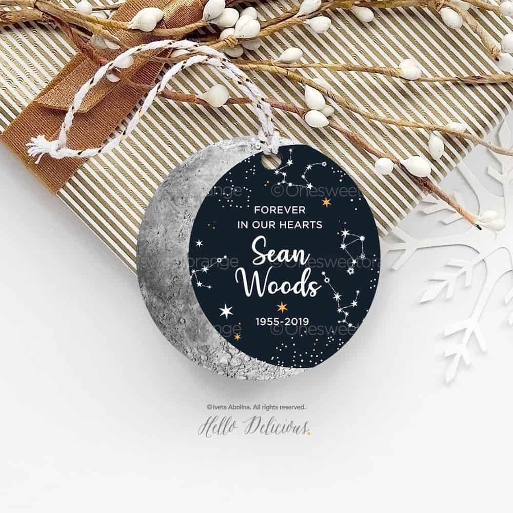 Forever In Our Hearts - christmas memorial gifts