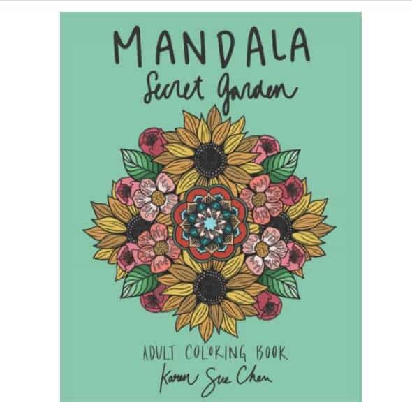 Stress Relieving Coloring Book for women