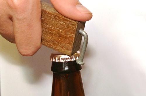 gifts for men: Wooden Bottle Opener