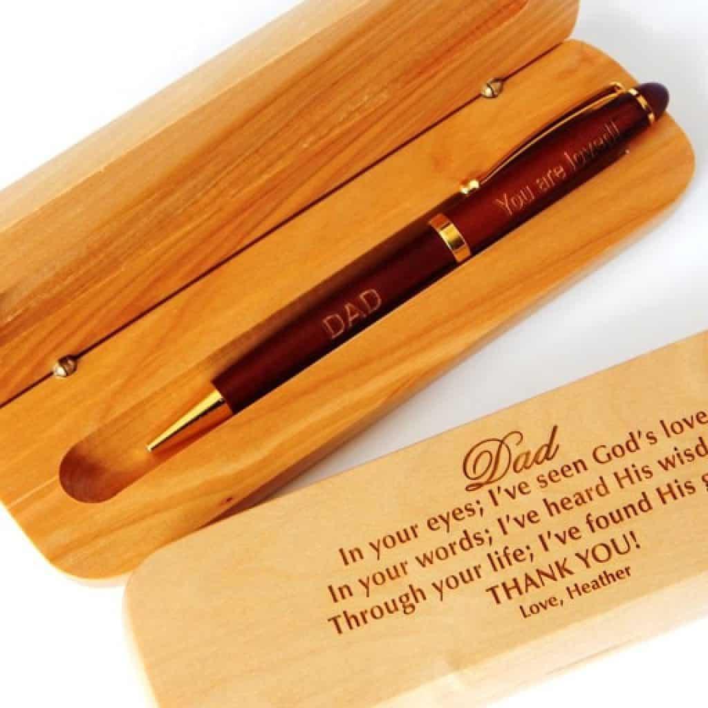 Wooden Pen - Christian Gifts for Men