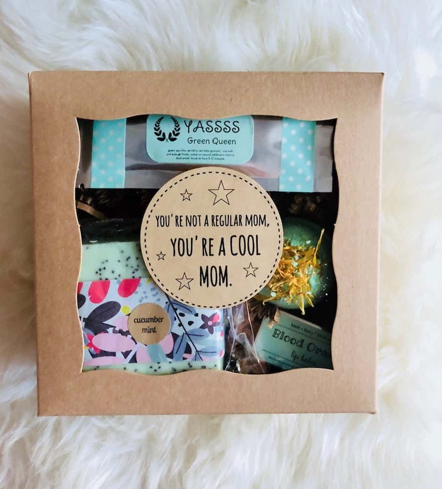 You're Not a Regular Mom, You're a COOL Mom Gift Box for Expectant Moms