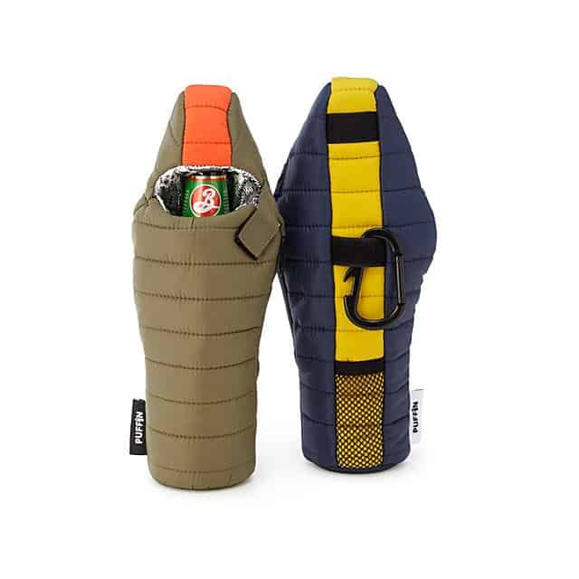 unique camping gifts: beer sleeping bag
