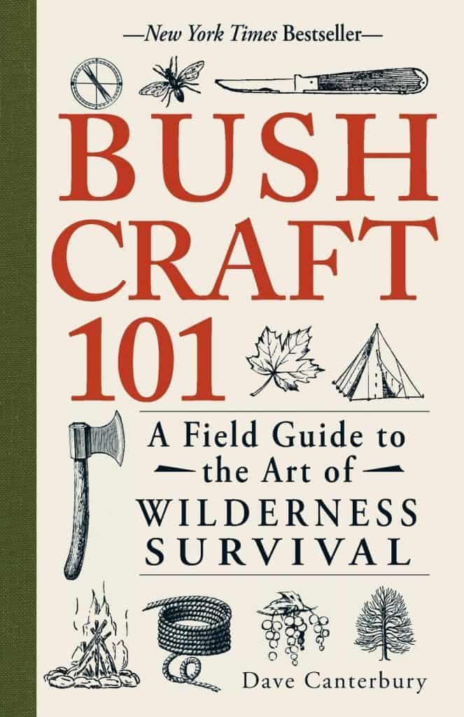 camping gifts for him: bushcraft 101 book