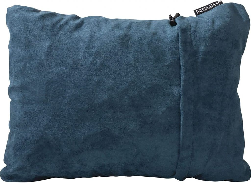 best camping gift: compressible pillow