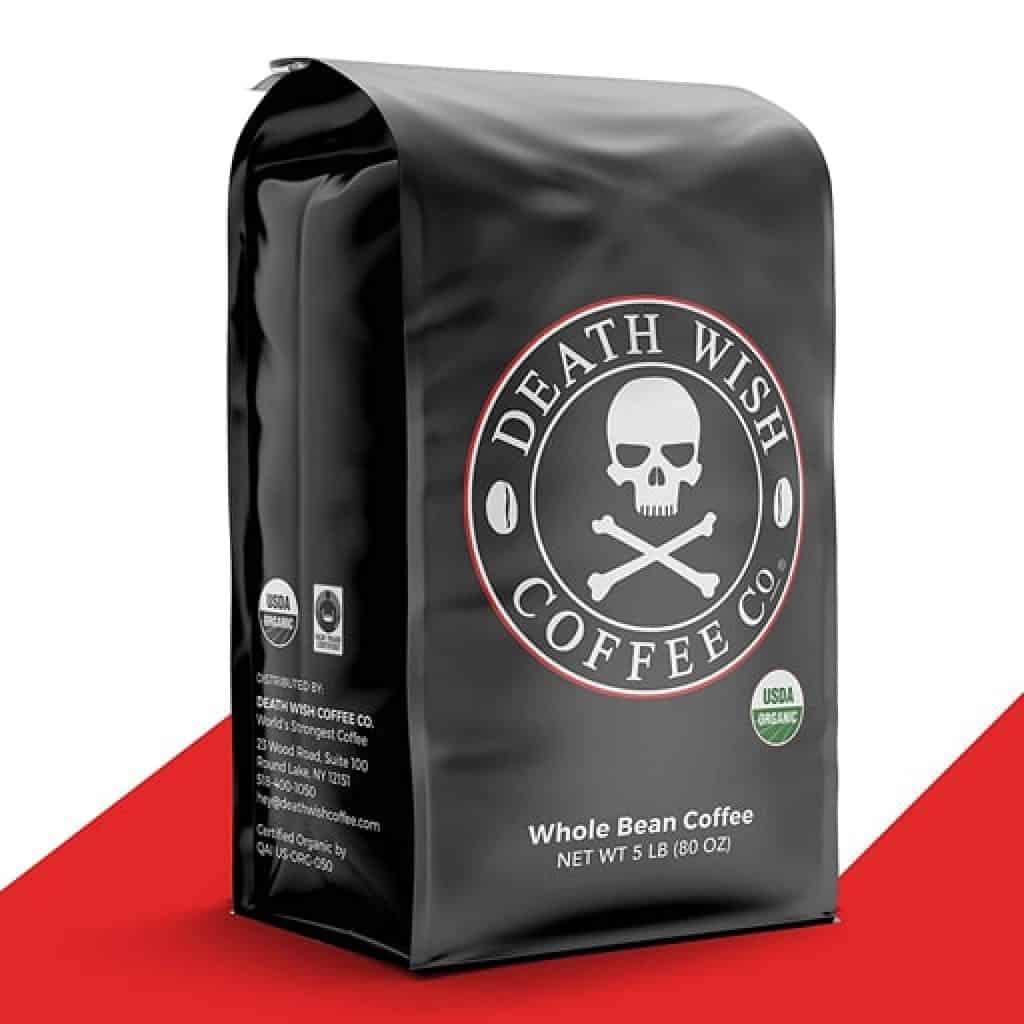Death Wish Coffee - Gifts for Coffee Lovers