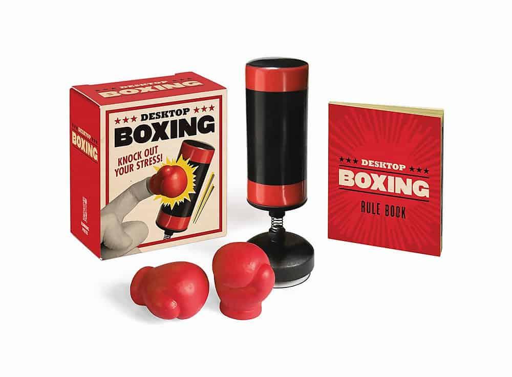 white elephant gift ideas $10: desktop boxing