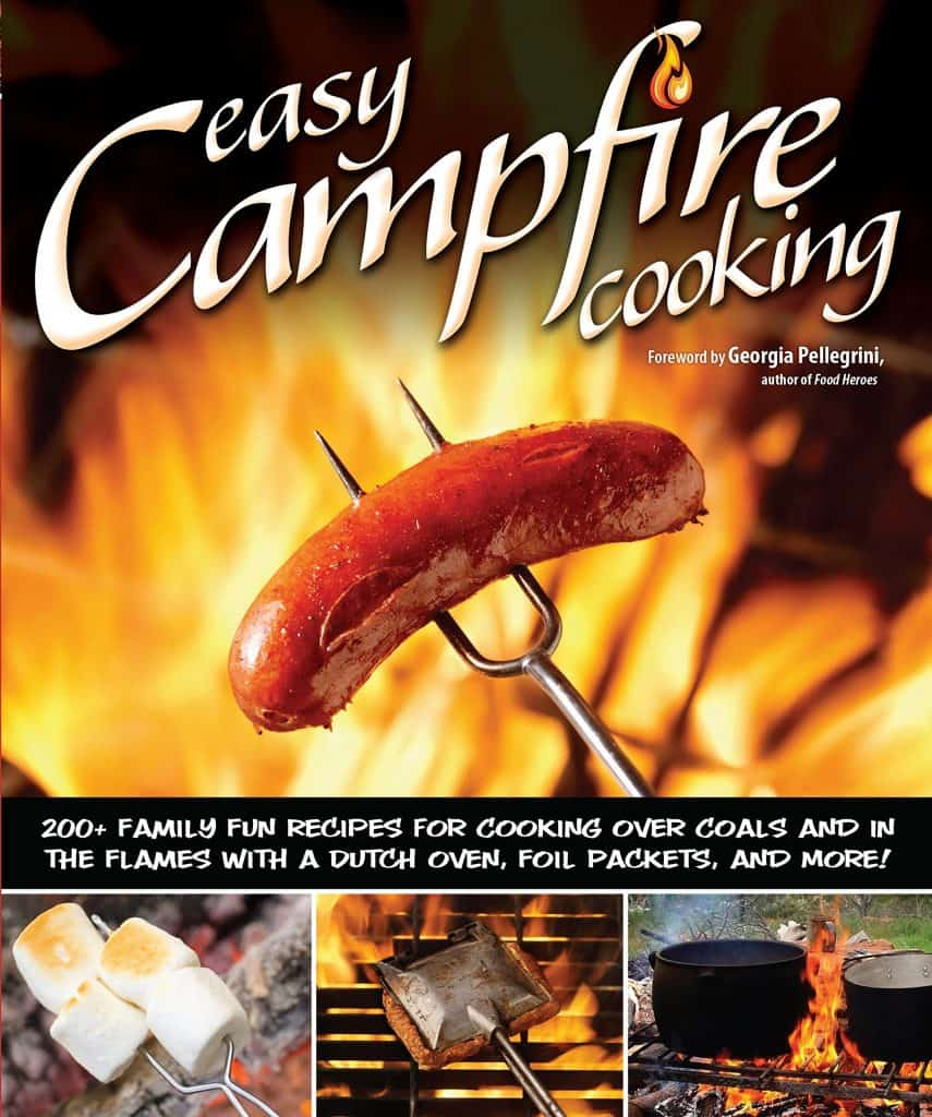 best camping gifts: easy campfire cooking recipe book