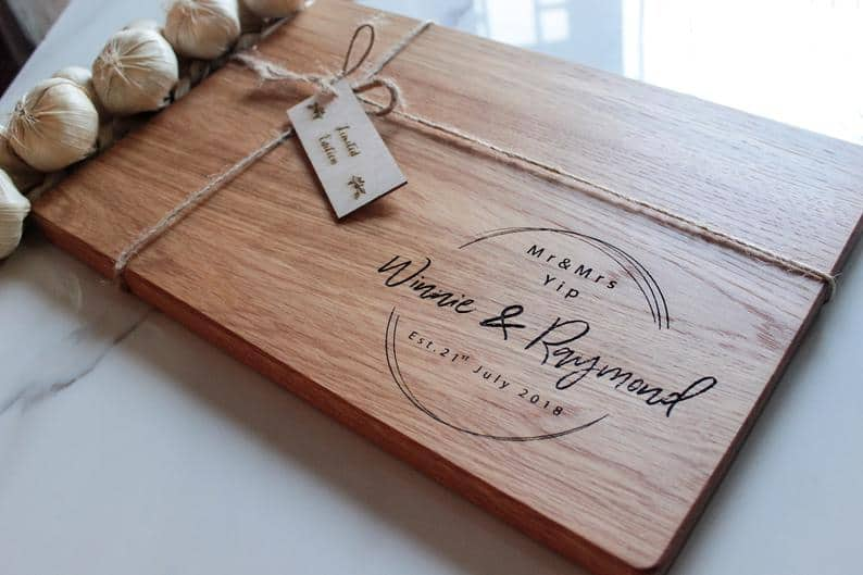 Engraved Wood Cutting Board