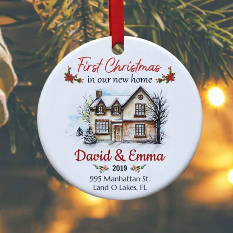 couple gifts: first christmas in our new home