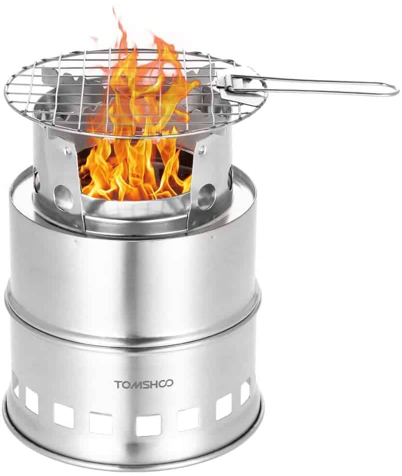 best camping gifts: foldable camping stove