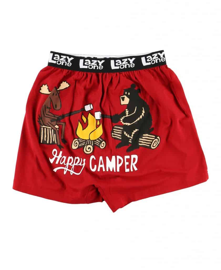 camper gift ideas for him: funny boxer