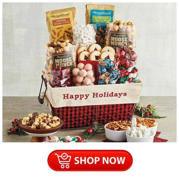 last minute christmas gift ideas for parents: gift basket
