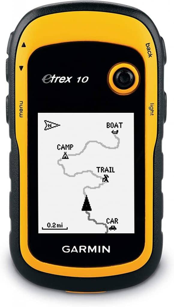 camping gear gifts: handheld gps navigator