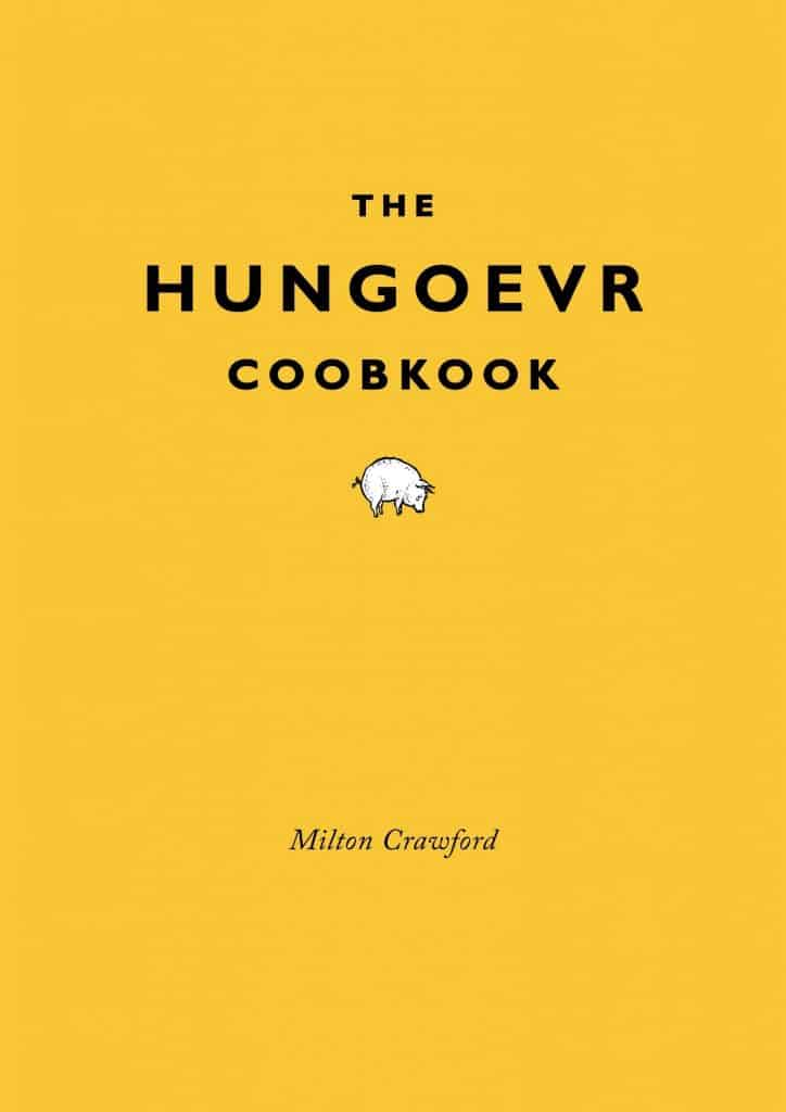 funny gift ideas: the hungover cookbook