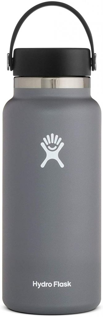 gifts for camping: hydro flask water bottle