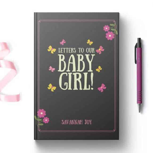 letters to our baby girl journal for pregnant women