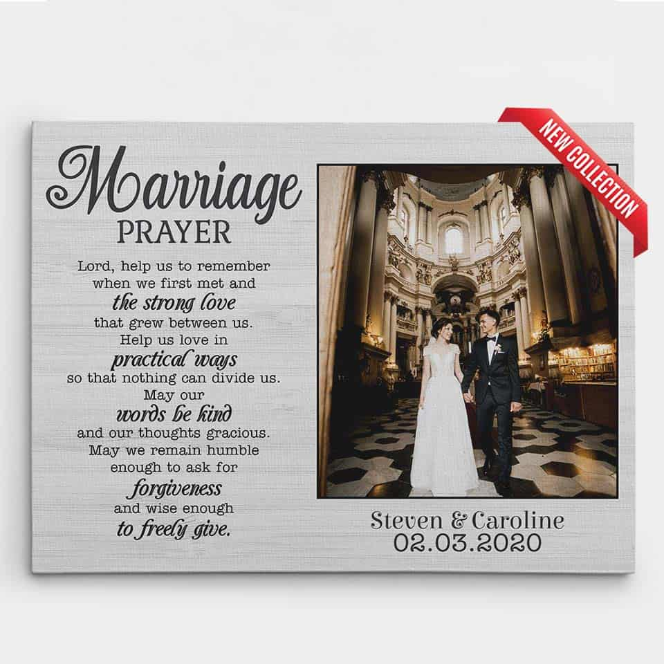 marriage prayer canvas