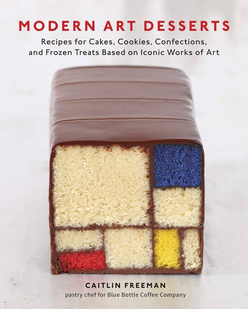 gifts for bakers: modern art desserts baking book