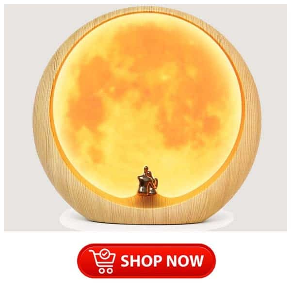 gift ideas for parents who have everything: moon ambient light