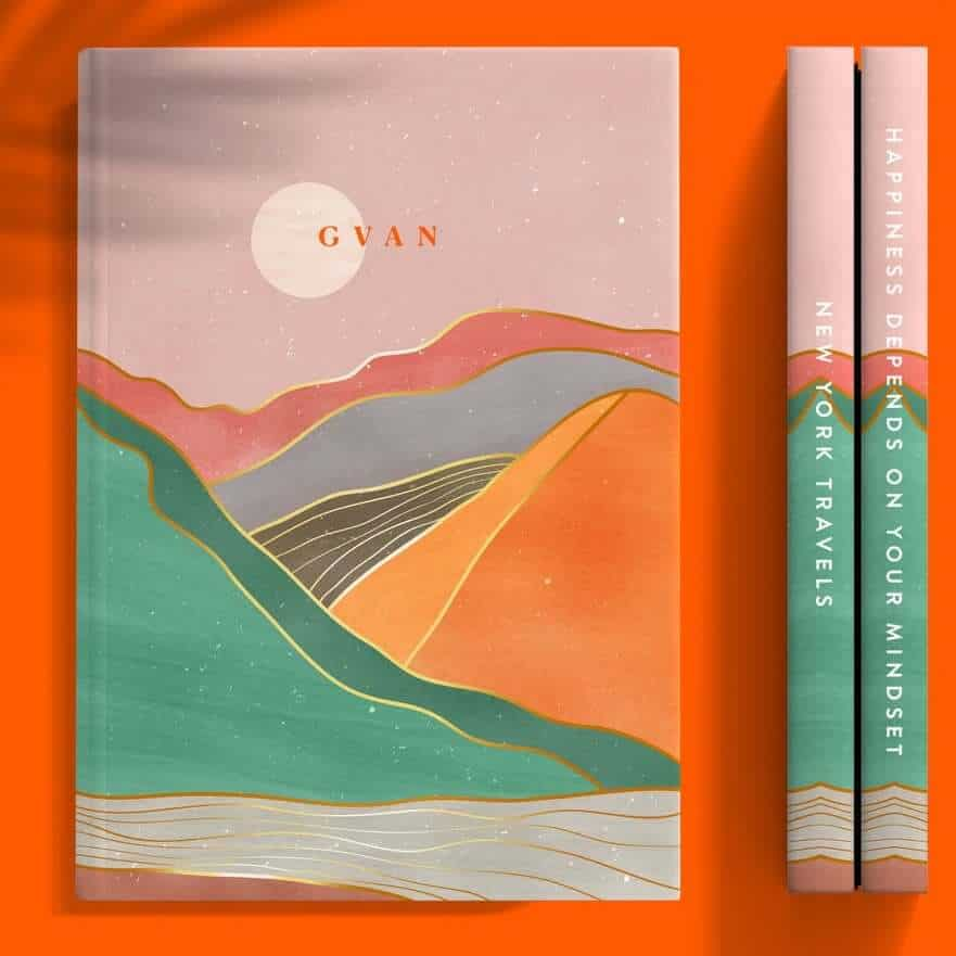 personalized journal as a stress relief gift for women