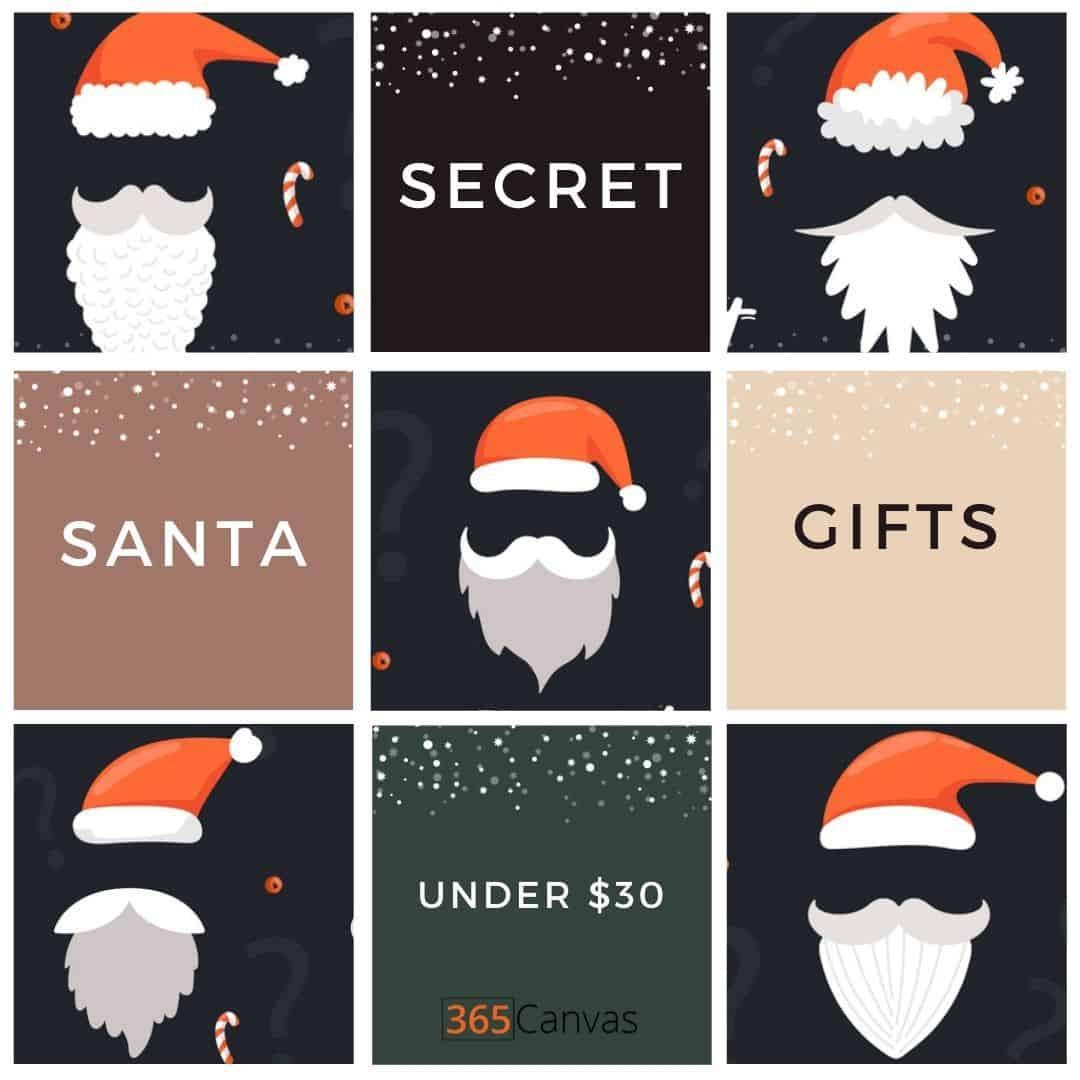 45+ Secret Santa Gifts under $30 to Make Your Recipient Feel Appreciated (2021)