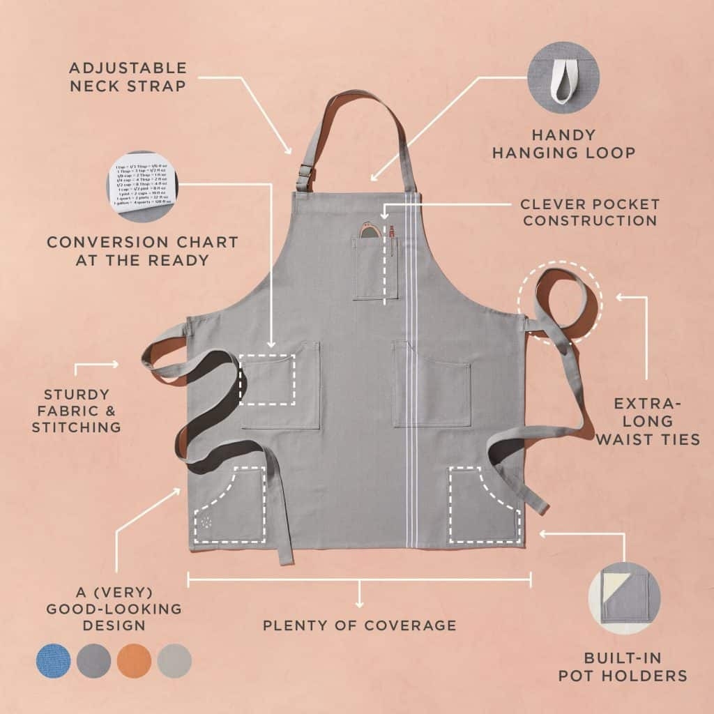 gift ideas for someone who likes to cook: ultimate apron