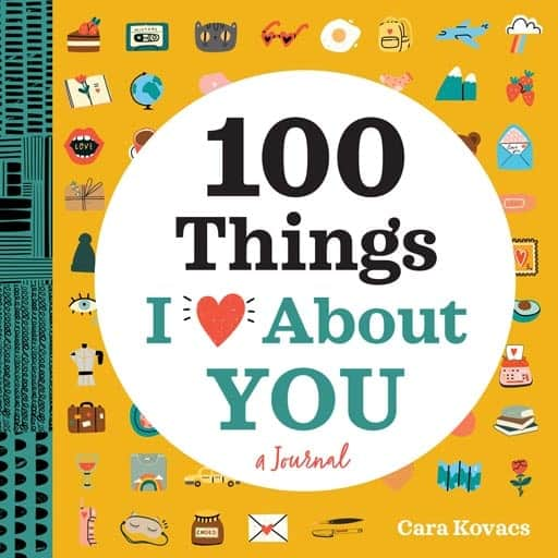 100 Things I Love About You - valentine gifts for her
