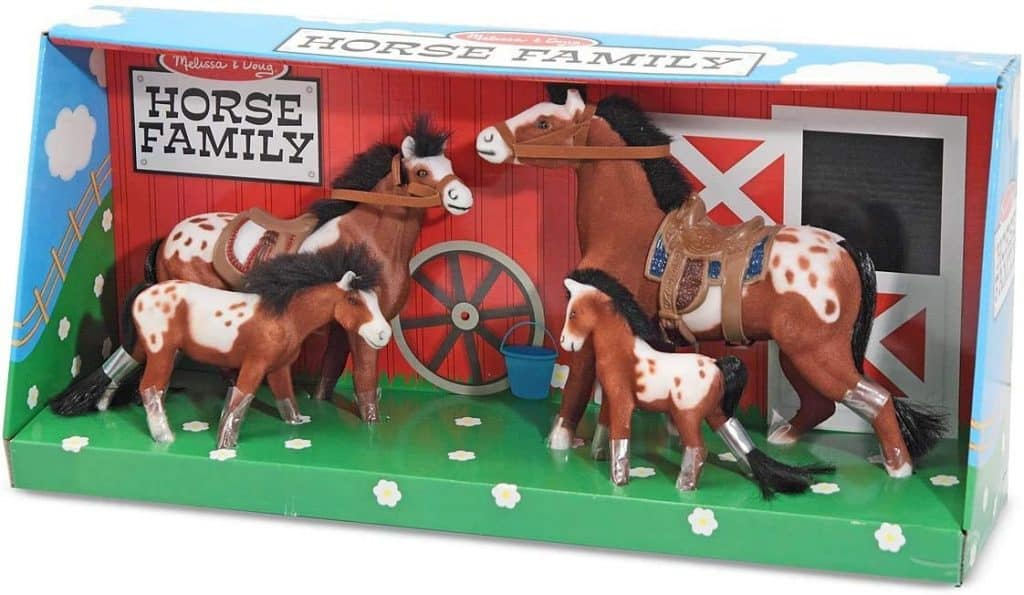 Appaloosa Horse Family - equestrians gifts