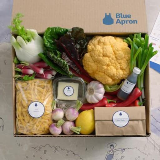 Blue Apron Gift Card - college graduation gifts for her