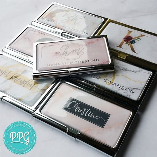 Business Card Holder - college graduation gifts for her